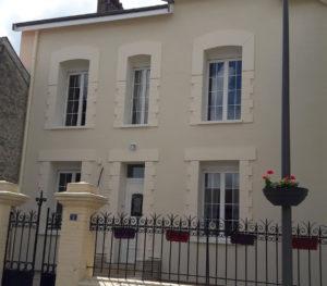 Isologis Reims Amiens Isolation thermique par l'extérieur et décor